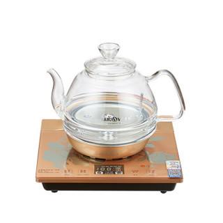 金灶(KAMJOVE)整套茶具 全自动上水烧水壶 电水壶全智能底部上水玻璃电茶壶H7