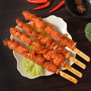 金锣 骨肉恋香 1000g/袋骨肉相连 烧烤食材 鸡肉串 鸡脆骨肉串