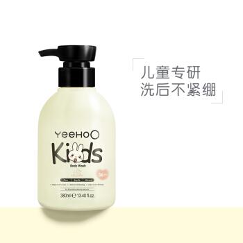 英氏(YEEHOO)儿童沐浴露沐浴液 温和洁净 儿童沐浴乳 380ml
