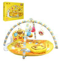 B.Duck 小黄鸭 婴儿脚踏琴爬行毯玩具 *3件