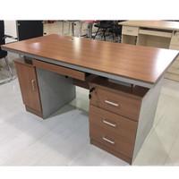 富庆源 电脑桌 办公桌 1.4M胶板电脑桌 胶板电脑桌 B-0053