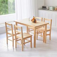 老装修升级计划 篇九:幸福无非四件事,8H Lark实木餐桌椅使用体验