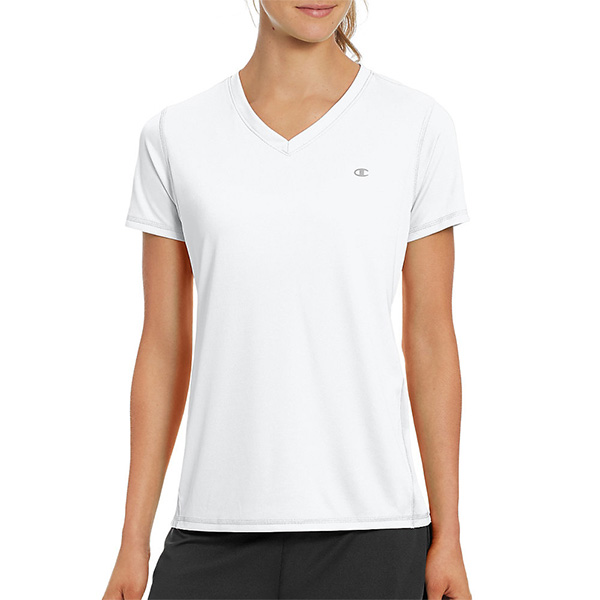 Champion Vapor W50063 女士V领短袖T恤