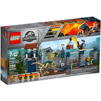 LEGO 乐高 侏罗纪世界系列 75931 双棘龙前哨攻击