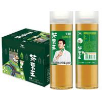 统一 茶里王 日式绿茶 无糖茶 420ML*12瓶 *2件
