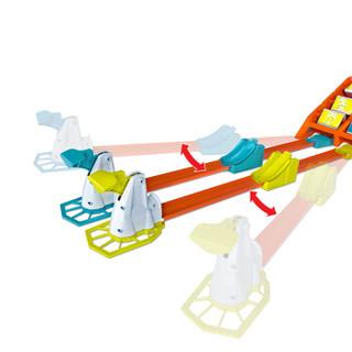HOT WHEELS 风火轮 GBF89 飞跃得分竞技赛道套装 小火车轨道玩具