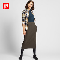 UNIQLO 优衣库 421915  女士罗纹紧身长裙