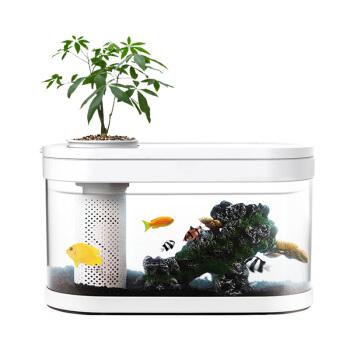 画法几何 两栖生态懒人鱼缸 38.2*16.6*22.9cm
