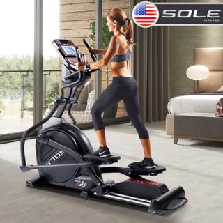 sole速尔E25NEW椭圆机家用椭圆仪原装进口家用磁控静音太空漫步机 健身器材登山机
