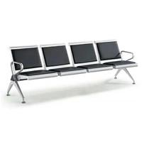 理邦机场椅连排椅公共座椅银行医院车站等候椅4人位