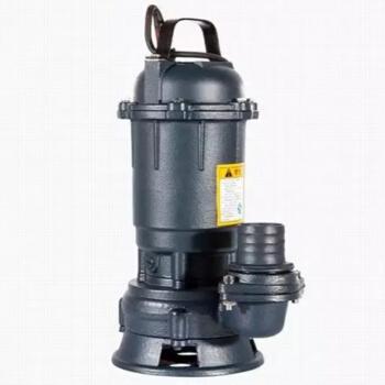 沪大WQD10-11-0.75带浮球污水泵0.75KW220V国标线 黑色 口径50