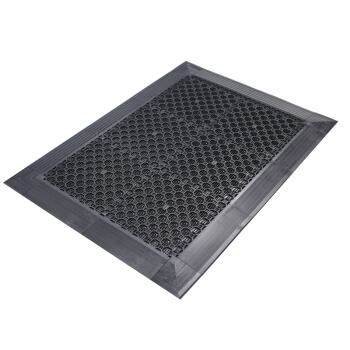 爱柯部落 布伦模块刮砂地垫 133cm×192cm 灰黑色 (主体54pcs,公、母边条各15pcs,转角4pcs)