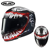 HJC 毒液二代 摩托车头盔 碳纤维全盔 RPHA 11漫威轻量级跑盔 L