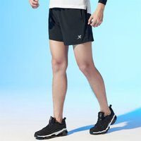 XTEP 特步  梭织男式运动短裤