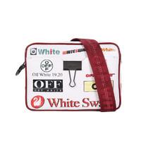 88VIP:OFF-WHITE OWNA088E19990102 牛皮单肩斜挎相机包