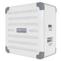 Zikko 即刻 eLUGGAG EL200 旅行充电器 45W(白色)