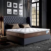 历史低价:AIRLAND 雅兰 舒睡尊享版 双层乳胶静音独袋弹簧床垫 1.8*2m