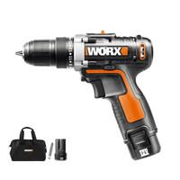 9日0点:WORX 威克士 WX128.7 12伏锂电钻双电版