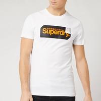 银联专享:Superdry 极度干燥 男士logo标 印花T恤