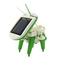 DIY制作小发明 太阳能机器人
