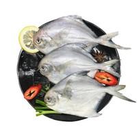 京东PLUS会员:东海银鲳鱼/白虾仁组合