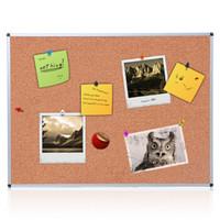 AUCS 软木板 照片墙 120*90cm 留言板水松板告示板 宣传展示图钉板 44543
