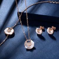 T400 幸运符手链、耳饰、锁骨项链 三件套