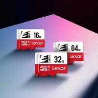 百亿补贴:Lexar 雷克沙 32GB microSD存储卡 TF卡