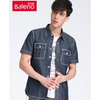 京东PLUS会员:Baleno 班尼路 28804017 男士牛仔衬衫 *2件