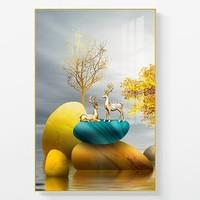 伊龙 客厅装饰挂画 30*40cm