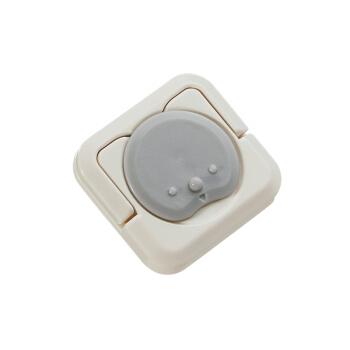 babycare插座保护盖 儿童防触电安全插座防护盖插头安全塞24只装 4066迷洁灰
