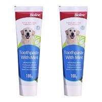 Bioline   宠物牙膏  100g *2件