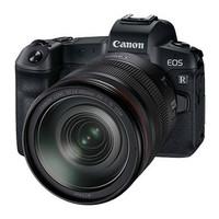 Canon 佳能 EOS R 全画幅 专微相机套机(RF 24-105mm F4 L IS USM镜头)