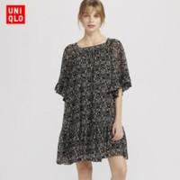 UNIQLO 优衣库 ANNA SUI 425968 女士雪纺连衣裙