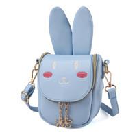 拥抱熊 长耳朵兔子 儿童斜跨单肩可爱包包