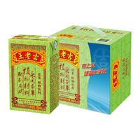 王老吉 凉茶绿盒装清凉茶饮料 250ml*12盒   *8件