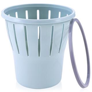 尔蓝(Airline)10L中号分类垃圾桶家用 办公室纸篓垃圾桶袋 塑料垃圾篓 GB103