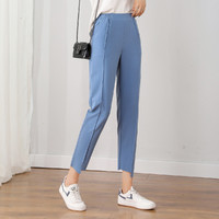 拉夏贝尔 25191-02GM-621 女款时尚休闲小脚裤