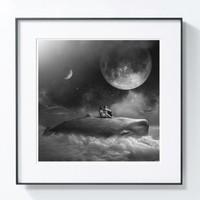 艺术品 Tomasz Zaczeniuk 作品《梦之海 》Moonwhale