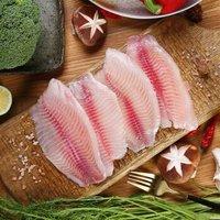 翔泰 国产海南冷冻鲷鱼柳鱼片 230g/袋 2片 *21件