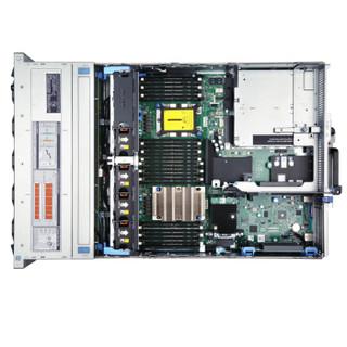 戴尔 DELL R740 2U机架式服务器主机(R730升级版)【铜牌3104/无内存/无硬盘/H330/DVD/495W】