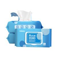 京东PLUS会员:J.ZAO 京东京造 卫生湿巾 80片*3包 *3件