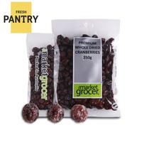 The Market Grocer 澳洲进口蔓越莓干 250g/袋 *10件
