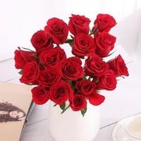 花服 红色玫瑰 20枝 送保鲜剂