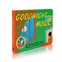 月亮晚安Goodnight Moon 英文原版绘本 睡前晚安故事 廖彩杏 吴敏兰 纸板书 0-3岁