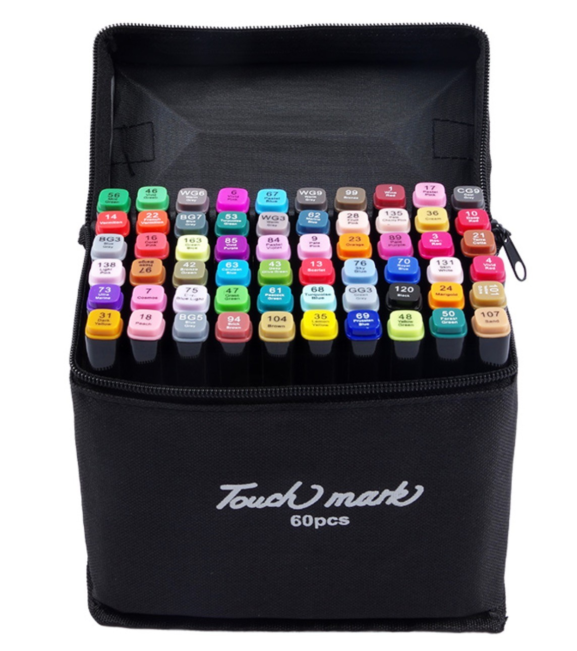 touch mark 马克笔套装 24色 初学款 送4件套