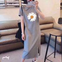 WEIMIYA 103458731 女装纯棉T恤连衣裙