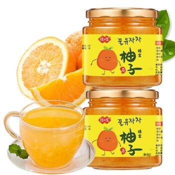 琼皇 蜂蜜柚子茶 500g*3瓶