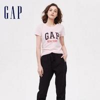 聚划算百亿补贴:Gap 盖璞 254129 女装圆领短袖T恤
