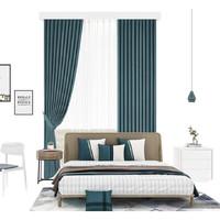 Aqara 绿米联创 智能窗帘电机开合帘版成品帘套装